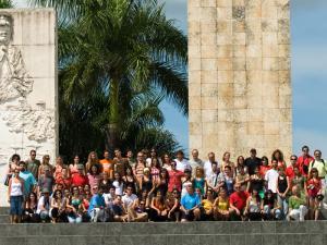 foto con todos los expedicionarios